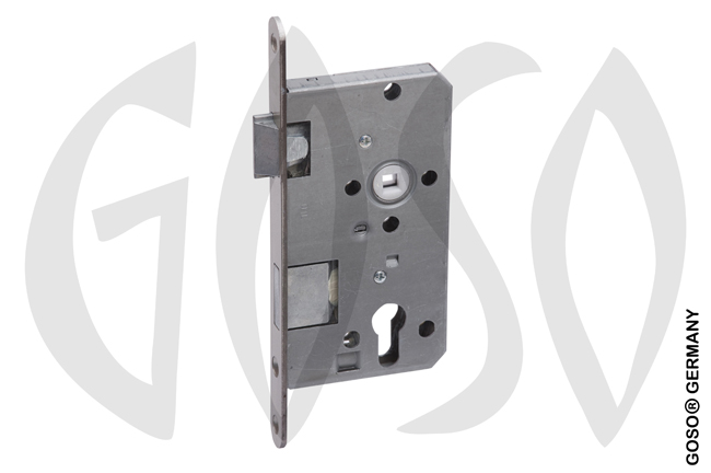 ES 929 Mortise door lock PZW, 55/72/8 mm B7473