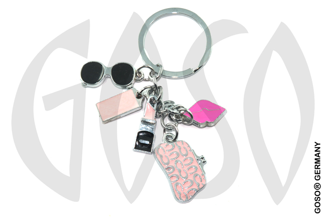 keychain lipstick lip gloss party 8813