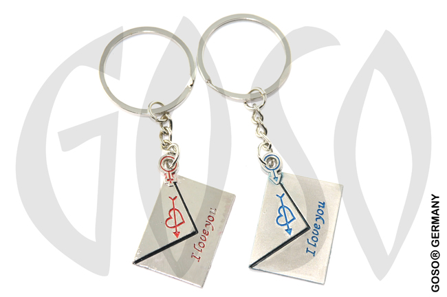 Keychain Letters Lover 8844